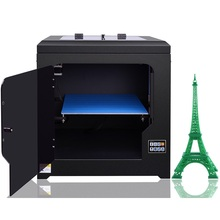 Dual Nozzles Dual Extruders Printing Two Color 3D Printers ET-168 with High Accuracy