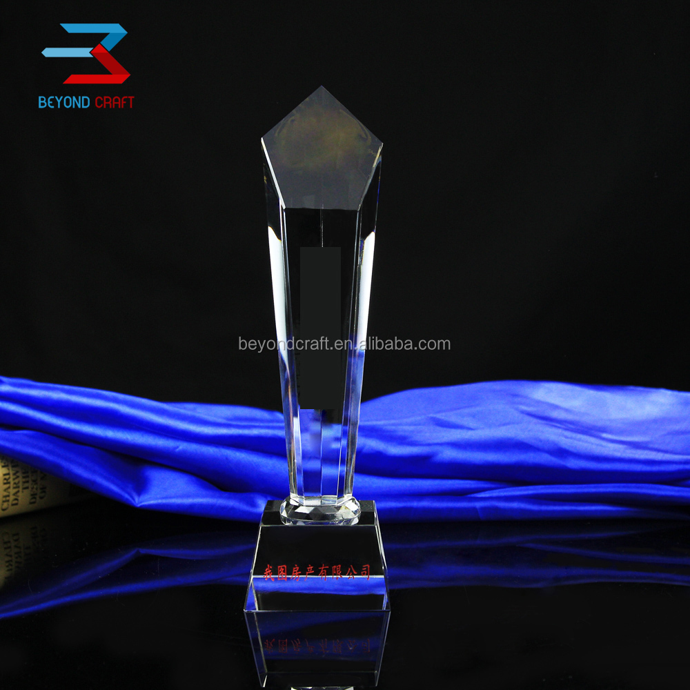 Manufacture Star Awards Crystal Trophy For Festival Film Souvenirs