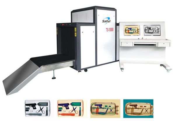Dual view X-Ray machine Baggage screening machine TS-10080