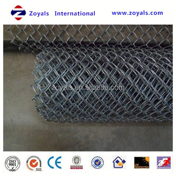 lowes chicken galvanized chain link wire mesh roll (ISO Factory & Exporter)