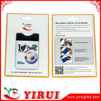 YK011 blist packed photo printing 3M Sticky card holder