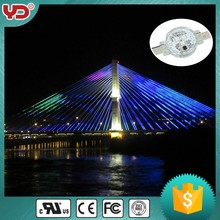 YD ip68 rgb point led public lighting projects for bridge