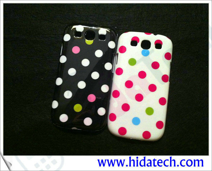 i9300 Dot Case For Samsung Galaxy S3 i9300 Phone Case,IMD Phone Case for Galaxy S3 i9300
