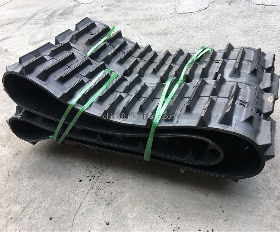 made in China 254X64X27 Kid Snowmobile Rubber Track