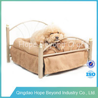 Pet products pet bed large metal frame dog bed