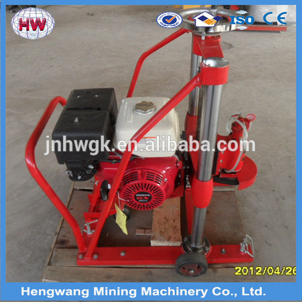 Round Hole Cutting Diamond Concrete Wet Core Drilling Machine