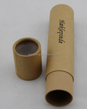 OEM bulk custom design cardboard paper packaging round tube gift box for wine