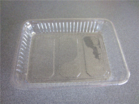 Hot sale clear plastic tray for all kinds of seasonal food