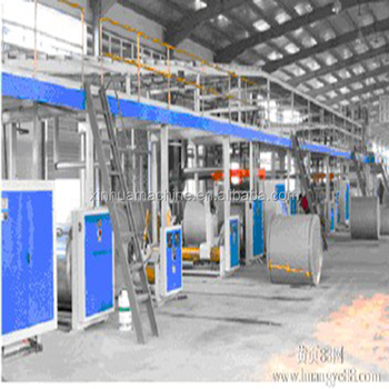XinHua 3 /5/ 7 ply automatic corrugated paperboard production line