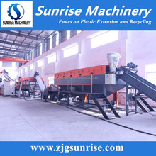 waste pe film scrap washing recycling machine