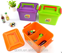 Airtight and water-proof plastic kitchen food fruit and vegetable storage container