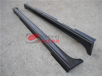 Car Accessories Carbon Fiber CF Bodykit For 2008-2012 lancer Evolution EVO X 10 Sexy Style Side Skirt