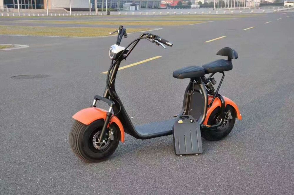 new citycoco electric scooter with removable battery