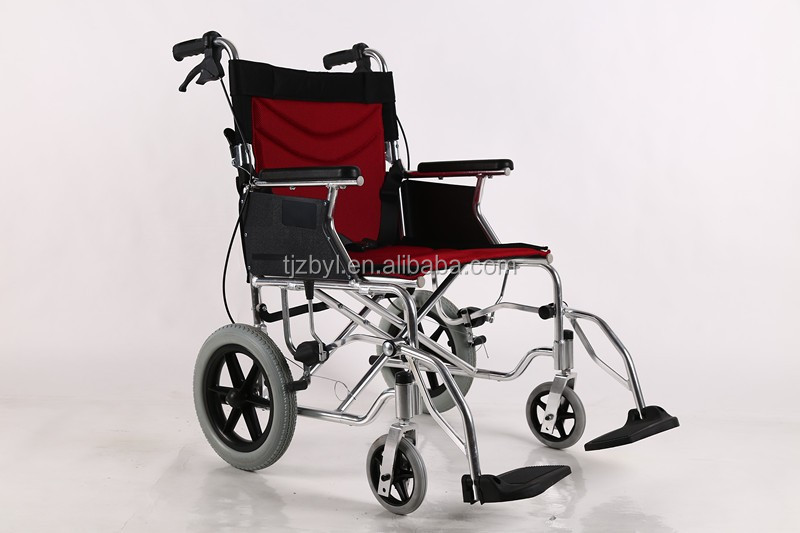 lightweight folding battery operated wheelchair
