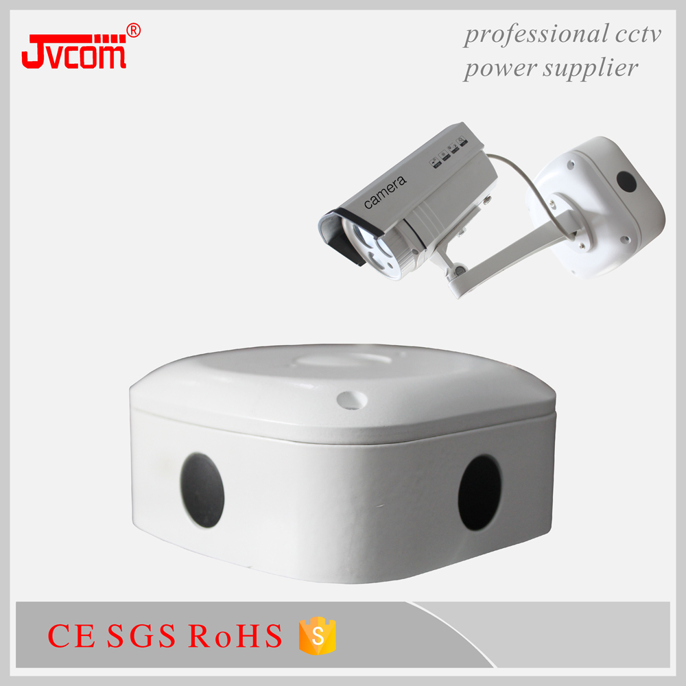Metal Indoor Outdoor Cable Hide Junction Protector Box for Security CCTV Bullet Camera