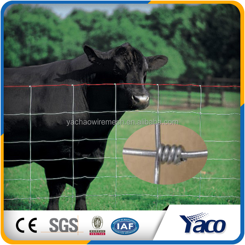 2m height galvanized field fence veldspan wire fence for sheep and goat
