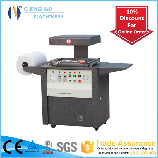 CHENGHAO Brand, CH-390 Manual Skin Packing Machine