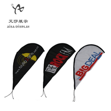 Cheap Mini Car Window flag teardrop car flag banner