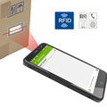 rugged android smart phone with NFC / HF / UHF RFID reader writer