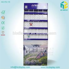 HIC Mass counter pallet stands for pet toys, Toys blister packaging cardboard display