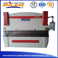 125Ton 4mm 5mm 6mm hydraulic specification automatic steel plate bending machine