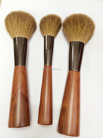 OEM Oblate Powder Brush and Round Powder Brush with Special Handle