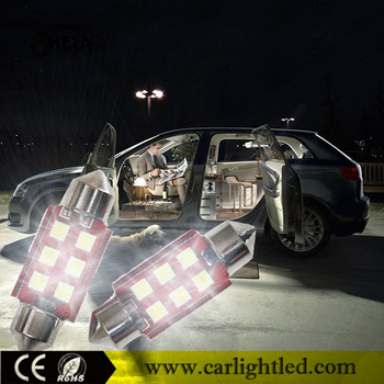 New Arrivals Festoon 3030 LED Bulb Car Lights C5W C3W C10W Dome Lighting Error Free Canbus LED Auto Parts