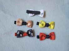 Kids Metal Barrettes Lovely Bow Shape Hair Pins