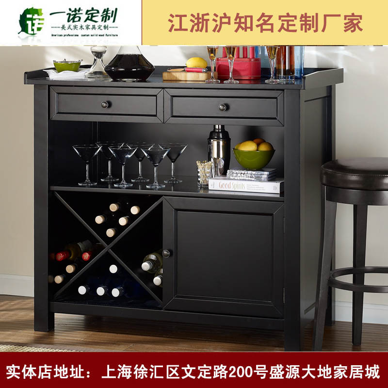 F40471A-1 Modern style unique design solid wood wine display racks cabinet