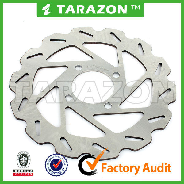 Stainless Steel Rear 200mm ATV Quad Brake Disc Rotor For YFM 250/350