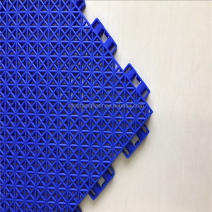 PP portable tennis court surface interlocking pp flooring tiles pp interlock mats 2017