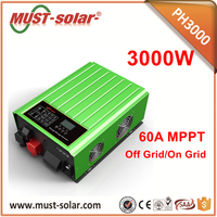 High Efficiency Pure Sine Wave Solar Grid Power Inverter for Solar System 2KW 3KW 4KW