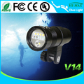Hi-max V14 Scuba led wide angle diving video light torch