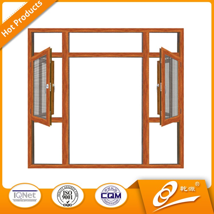 aluminium vertical sliding sash window and double hung windows