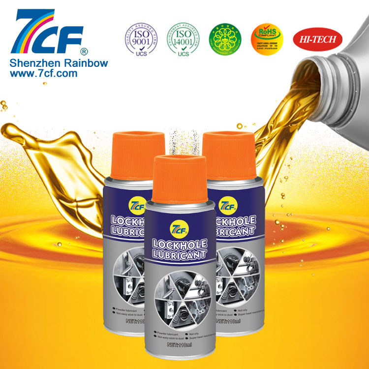 7cf lubricant for automotive hole