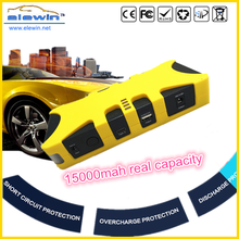Portable 12V 600-Amp Car Battery Jump Starter and Cell Phone Power Bank with Multi Charger