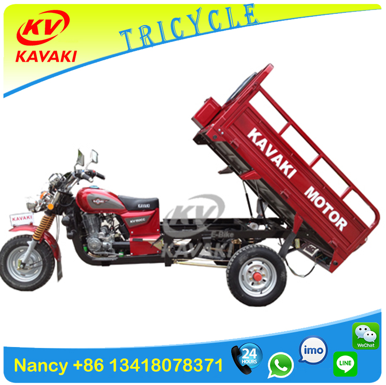 China KAVAKI motor Factroy CG150 adule gasoline three wheel motorcycle /cargo trike/3 wheeler car /motorbike