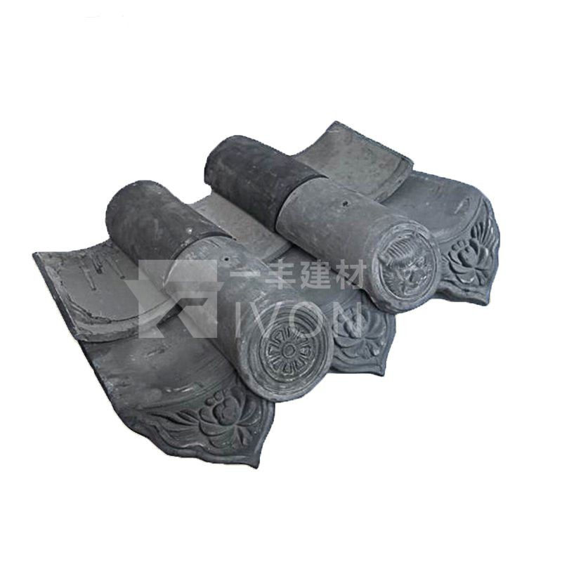 IVON New roofing material Japanese roof tiles for sale chinese clay roof tiles