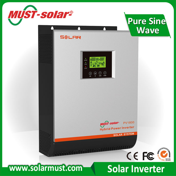 Hot Sale !!! High Quality Solar Power Inverter With Solar Controller 1KVA 2KVA 3KVA
