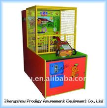 coin operated launch tiger amusement machine for game center