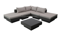 Comfortable outdoor rattan furniture sofa set rattan muebles