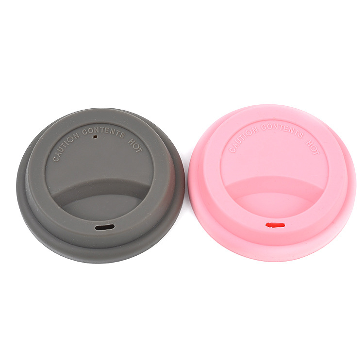 Leak-proof Elastic Grip Silicone Rubber Coffee Beverage Tea Cup Cover Lid cap