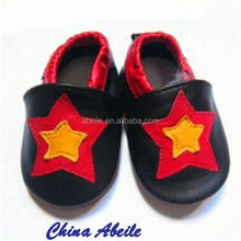 flat sheepskin or cowhide leather animal babies moccasins new infant soft toddler baby shoes