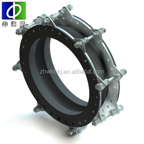 rubber expansion joint with union and flange
