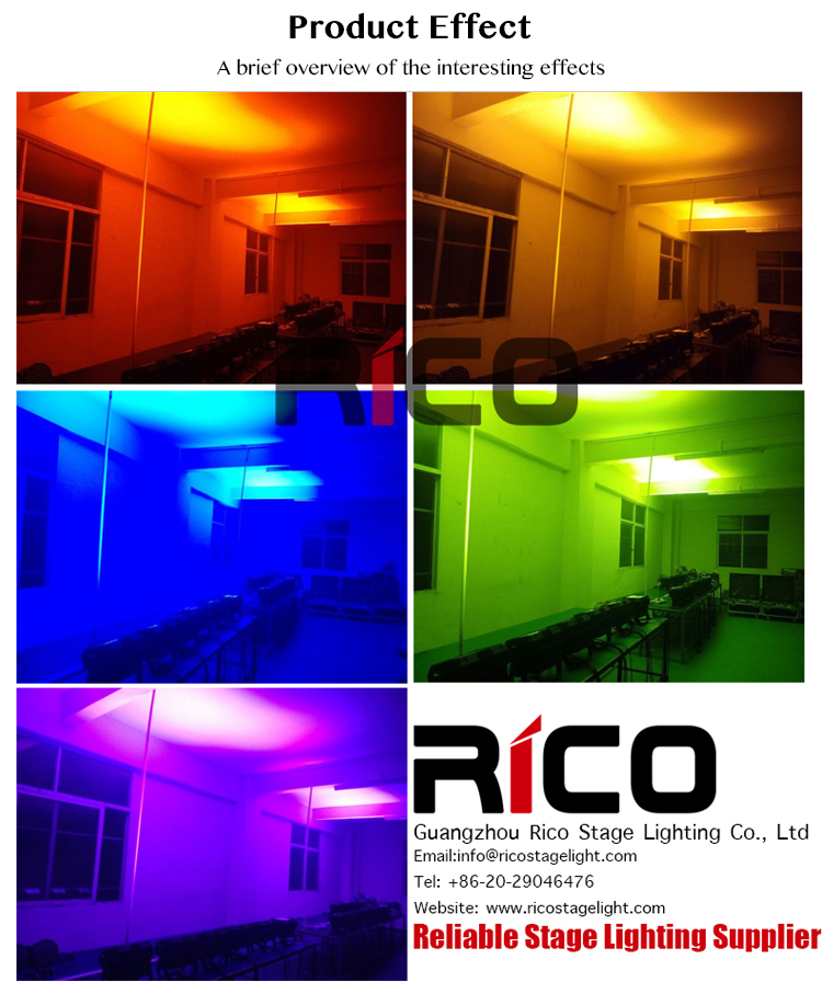 Stable quality DMX ip65 waterproof 24*15 led 5 in 1 rgbwa waterproof par light