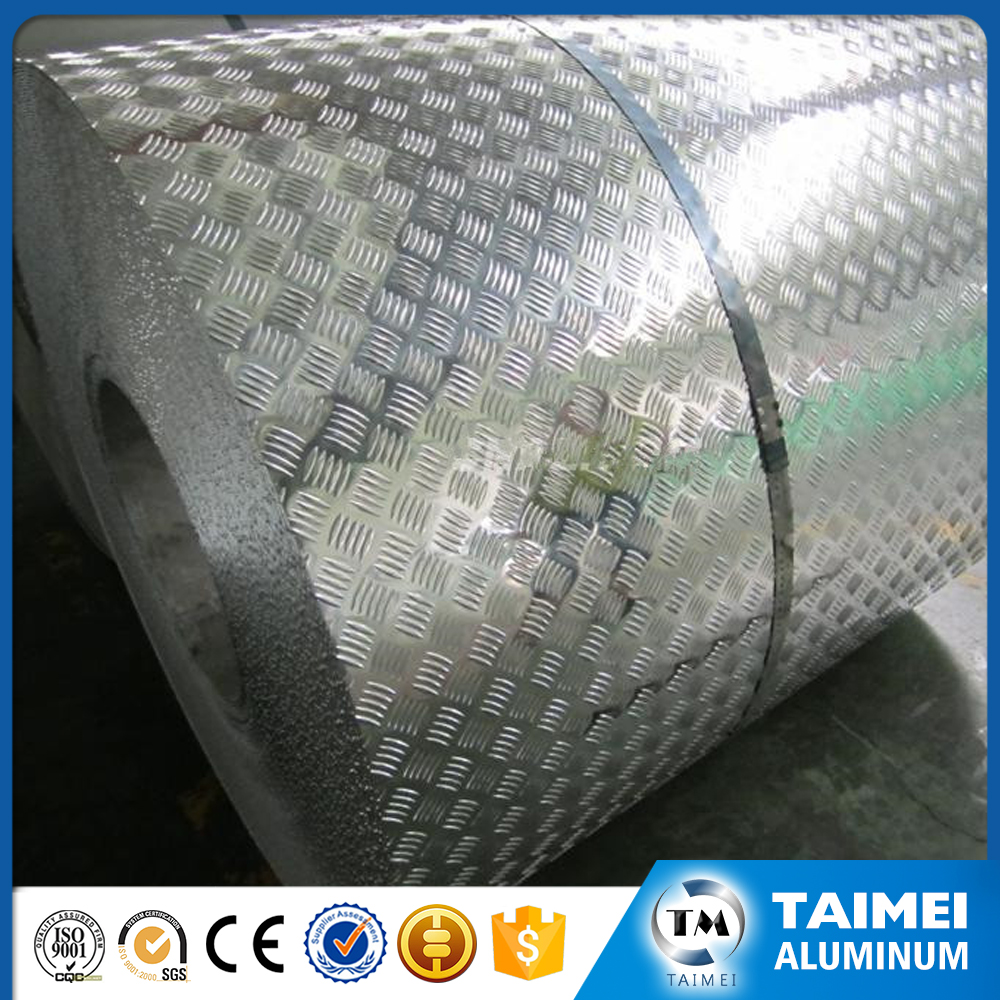 China Professional Supplier Stucco Embossed Aluminum Coil In Cost Price