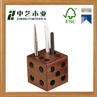 Buy eco friendly bamboo personalized pen holder in China on ...