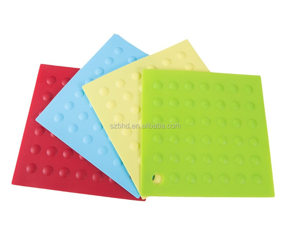 Heat Resistant Silicone Rubber Heating Hot Pads / Sheet