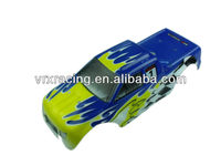 1/10th scale EP truck Printed body,rc electrical powered truck' s body, colorful electrical powered rc truck's body shell