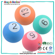 Low price small soft 27mm bouncing eva foam balls for kids